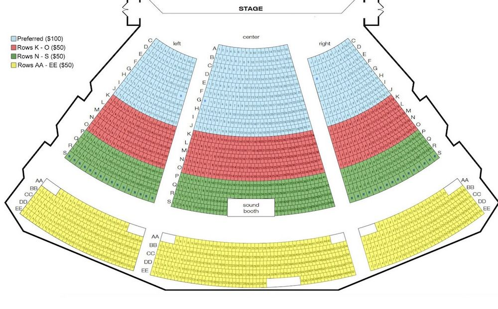Seating Chart For The Dollywood Concert Series At Part Of S Showcase Stars