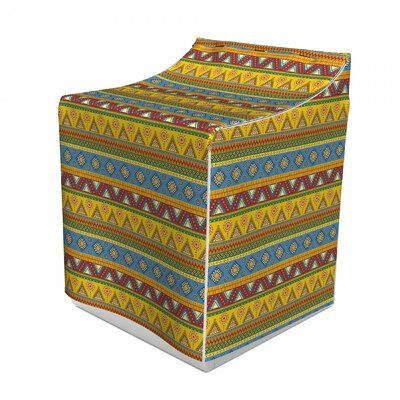East Urban Home Ambesonne Aztec Washer Cover, Traditional Classic Tribal Style Folk Motif Sun Mexican Culture Image, Dust And Dirt Free Decorative Print, 29 X 28 X 40, Multicolor #mexicanculture