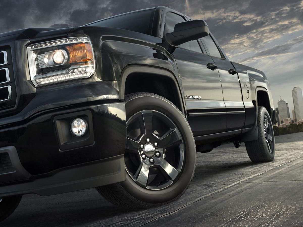 The new gmc sierra elevation edition will be based on the 2015 sierra 1500 double off road