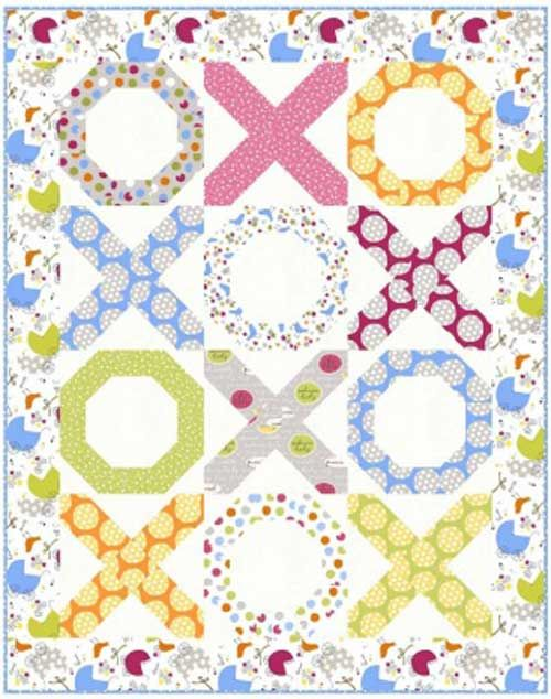 Free Pattern Hugs And Kisses Quilt 41 X 52 By Sue Pickering