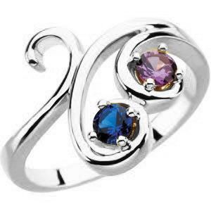 Unique multi stone mothers ring 4 or 5 or 6 birthstones set in unique multi stone mothers ring 4 or 5 or 6 birthstones set in sterling silver wild garden mothers ring made to order mother rings aloadofball Images