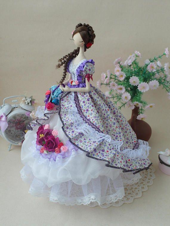 Korean style doll Korean doll Oriental dol, Textile doll Handmade ...