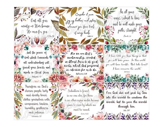 picture regarding Bible Verse Cards Printable named Pin upon Products and solutions