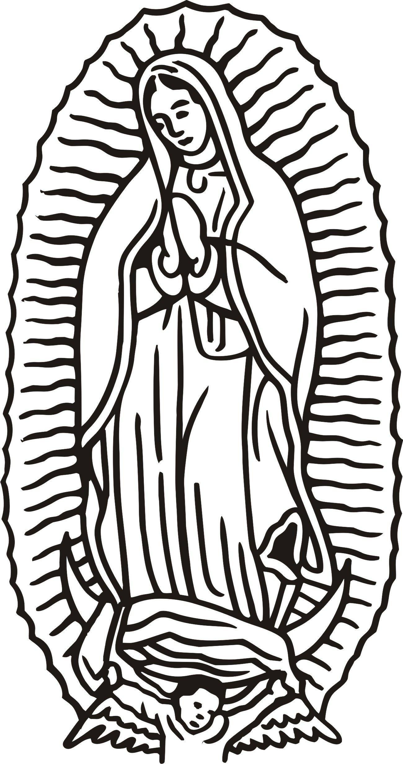 Our Lady Drawing Simple Drawings Art Art Drawings Simple