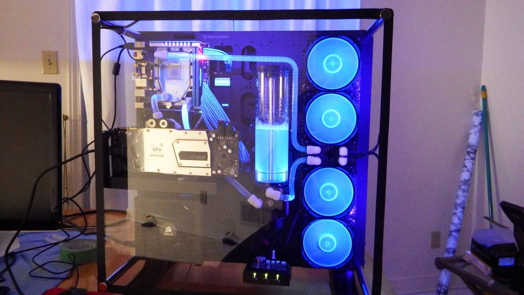 This Club Is For Owners And People Interested In The Thermaltake Core P5 Atx Wall Mount Open Gaming Computer Setup Custom Computer Custom Pc