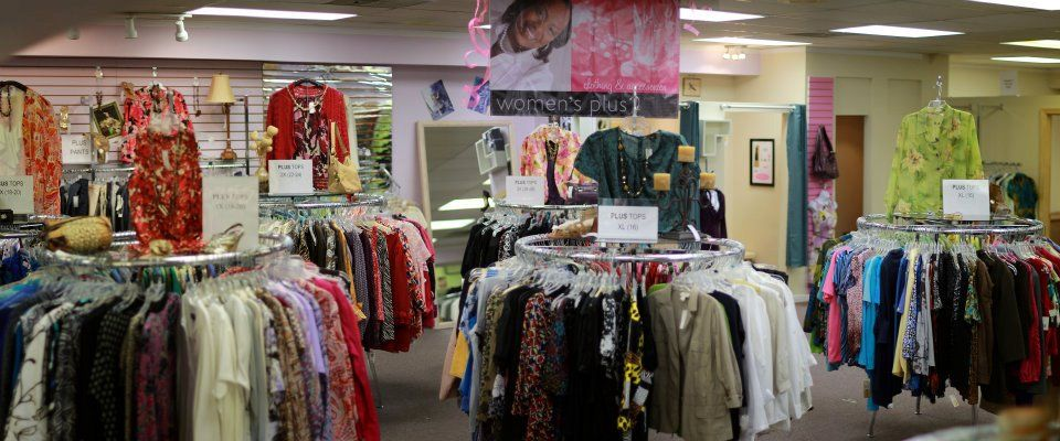 We have one of the best selections of ladies clothing sizes 16(XL)-26(3X) in the Atlanta area. Over 1500 square feet of Lane Bryant, Venezia, Torrid, Ann Taylor, Seven, Missook, St. John, and more