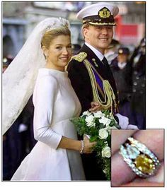 Queen maxima wedding ring