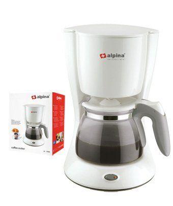 Alpina Switzerland 220 Volts Coffee Maker By 48 00 50hz Capacity 10 12 Cups 1 25l Convenient Anti Drip