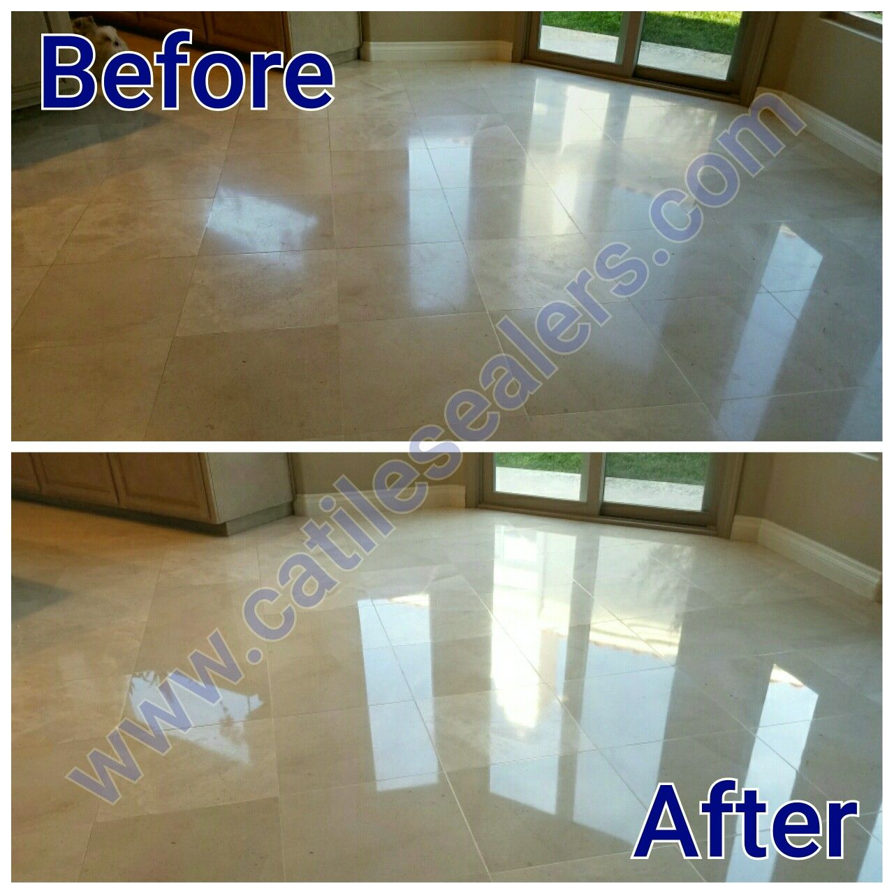 Marble Floors Cleaned Diamond Polished And Sealed Travertine