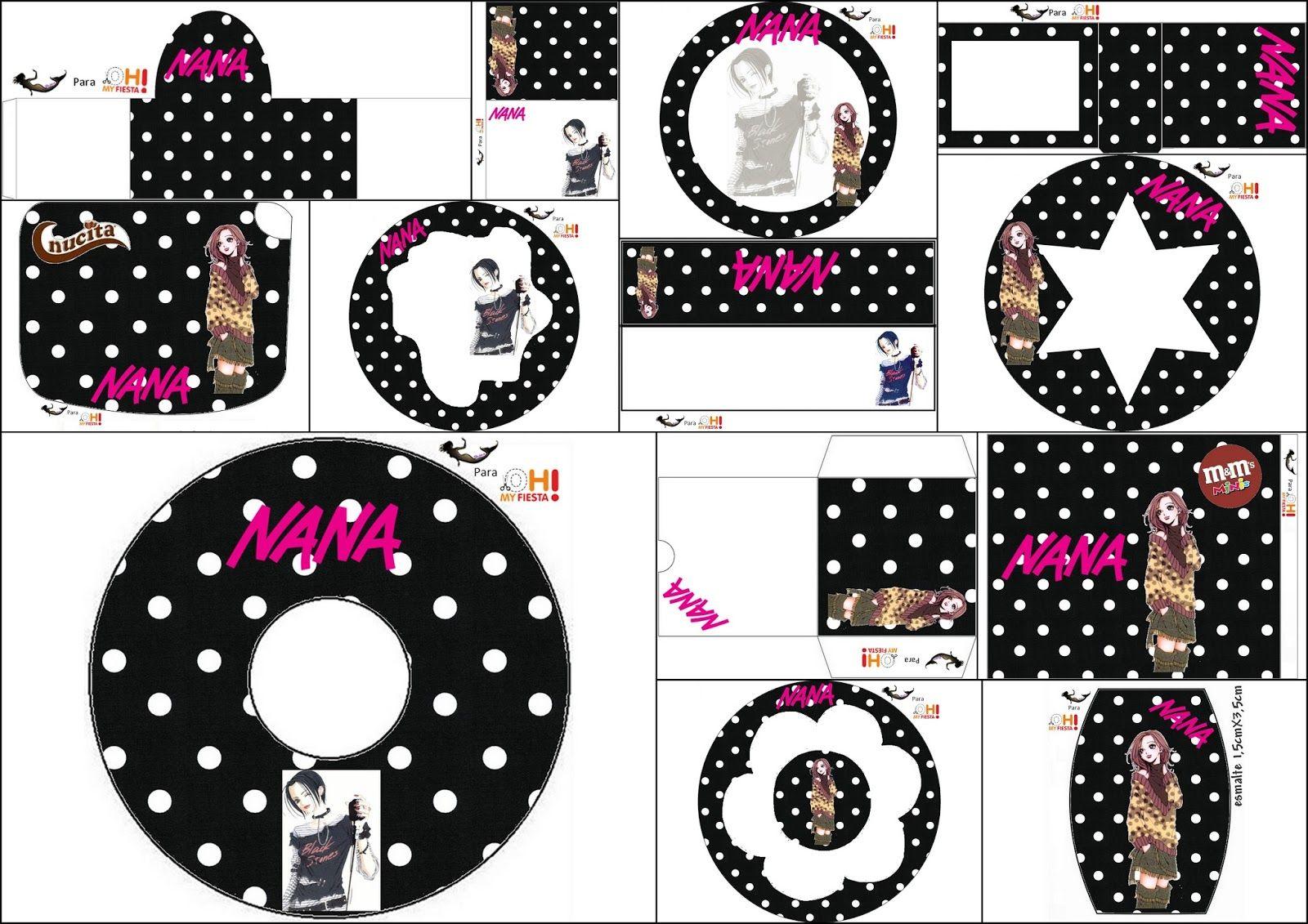 Nana: Etiquetas para Candy Bar para Imprimir Gratis. | imprimible ...