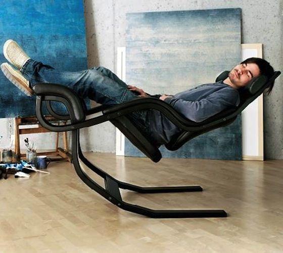 Stokke Gravity Balans Chair Furniture Display