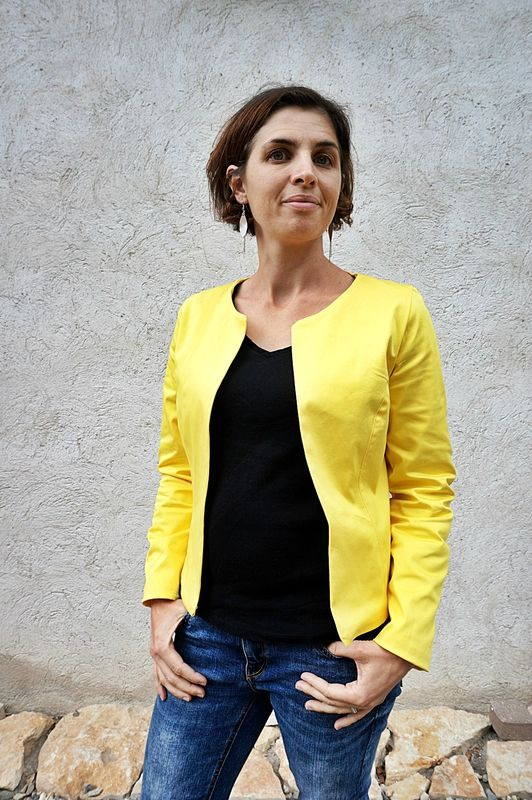 Veste mona maison victor envies de couture pinterest for Modele maison victor