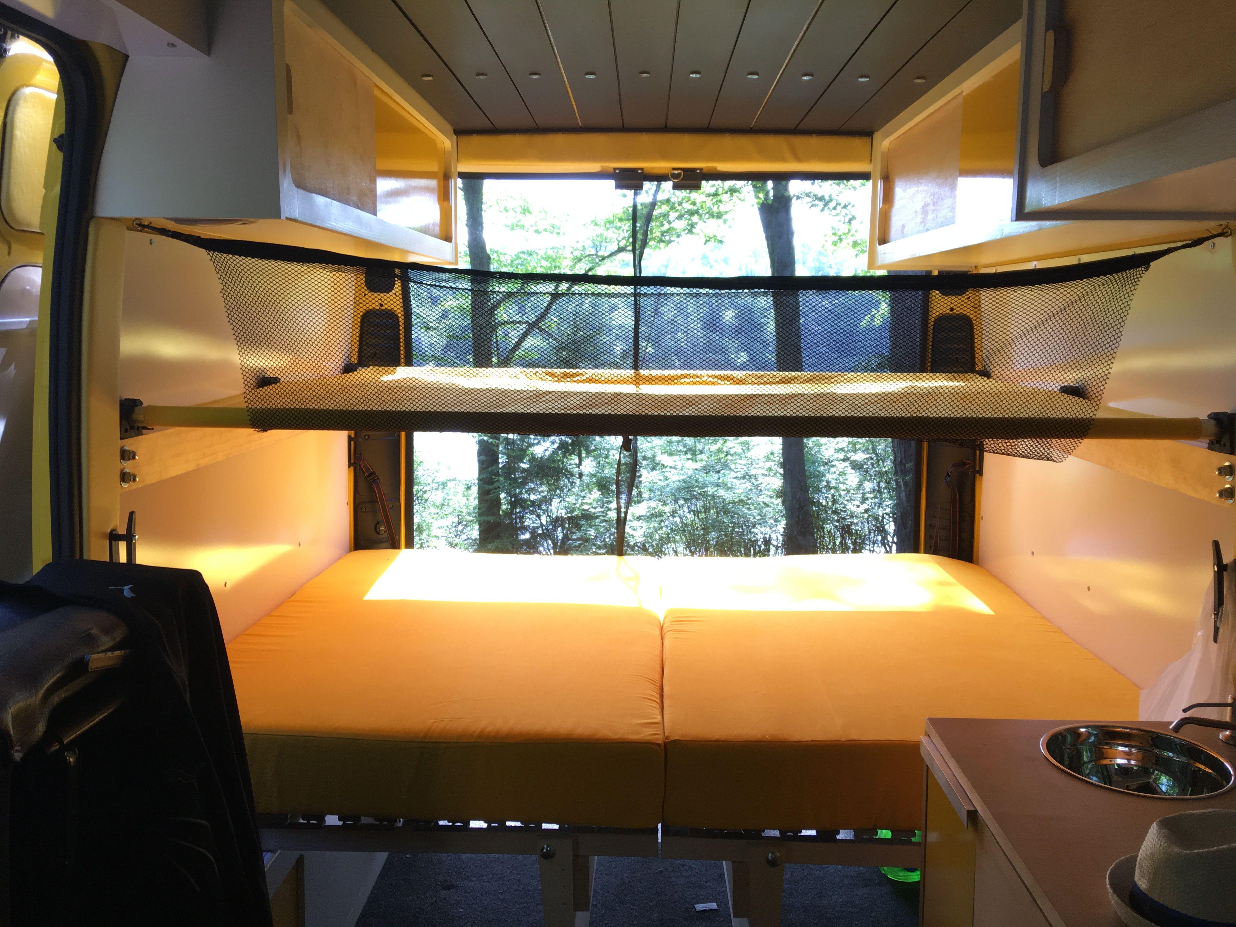 Bunk Beds Promaster Campervan Bunk Beds Bunks Cool Bunk Beds
