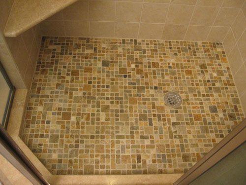 glass tile floors | natural stone tiled shower floor-tile shower installation-cherry hill ...