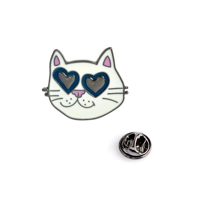 8ab6b1fed I Love Cats Pin | CATS | Cat pin, Brooch pin, Cats