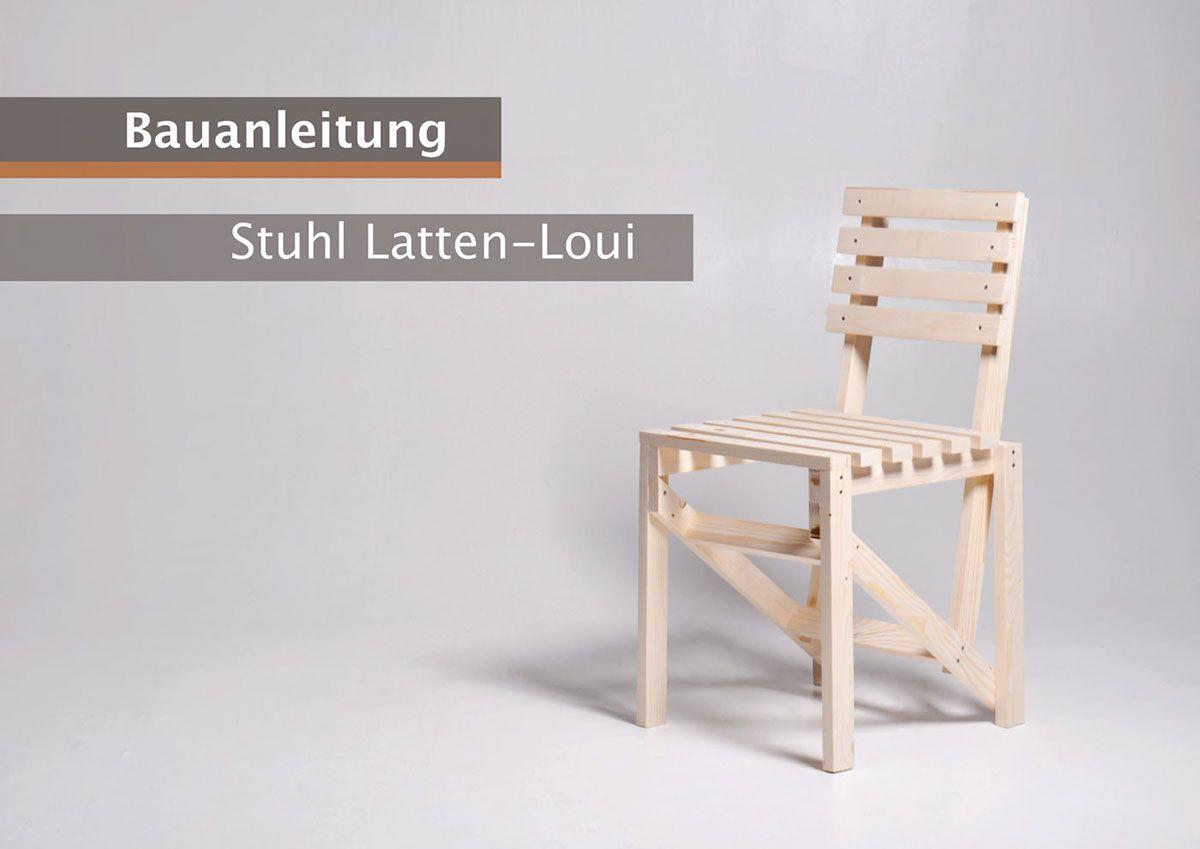 DIY-Stuhl - Latten-Loui on Behance   Design   Pinterest   Behance