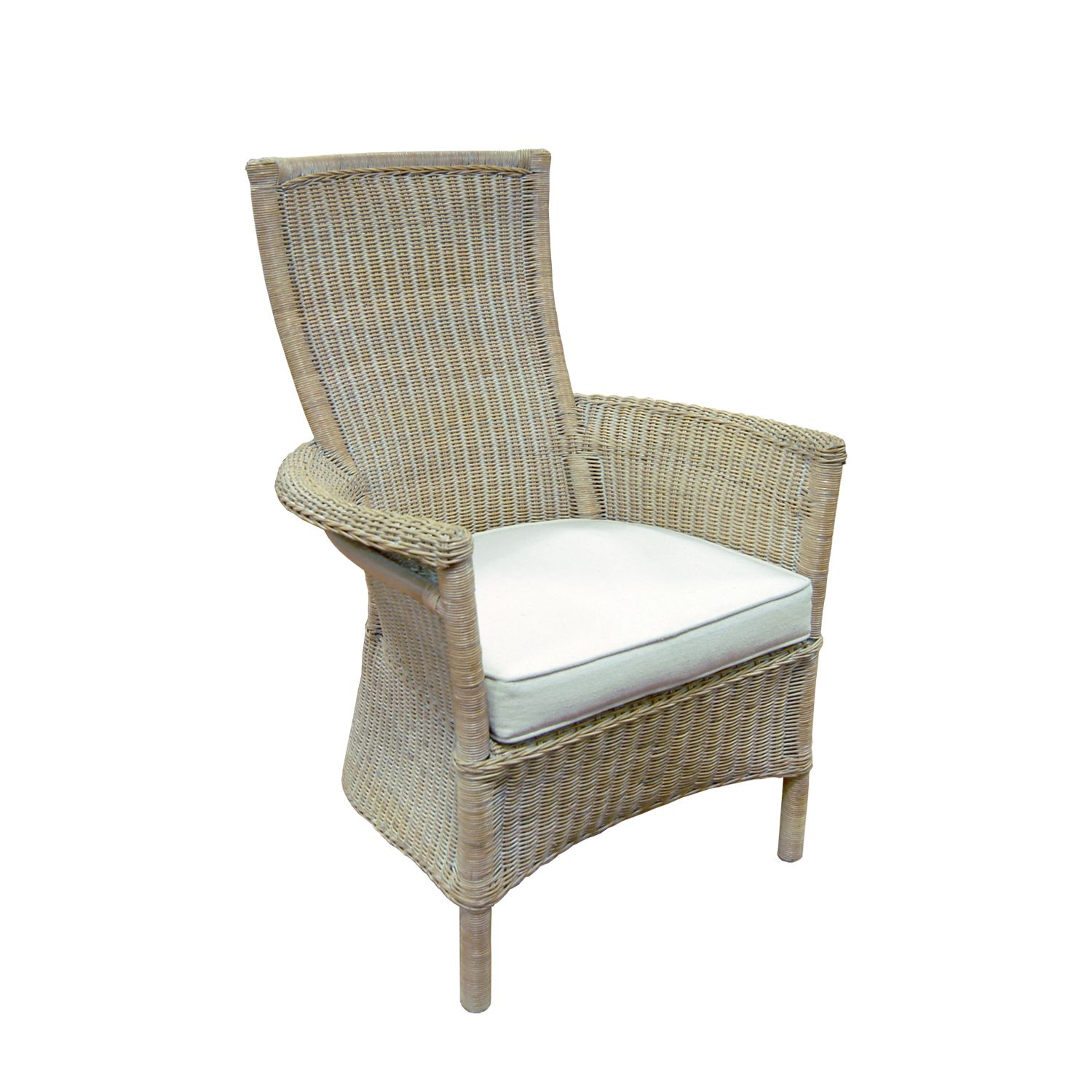 Vanessa Wicker Chair From Glasswells Ltd