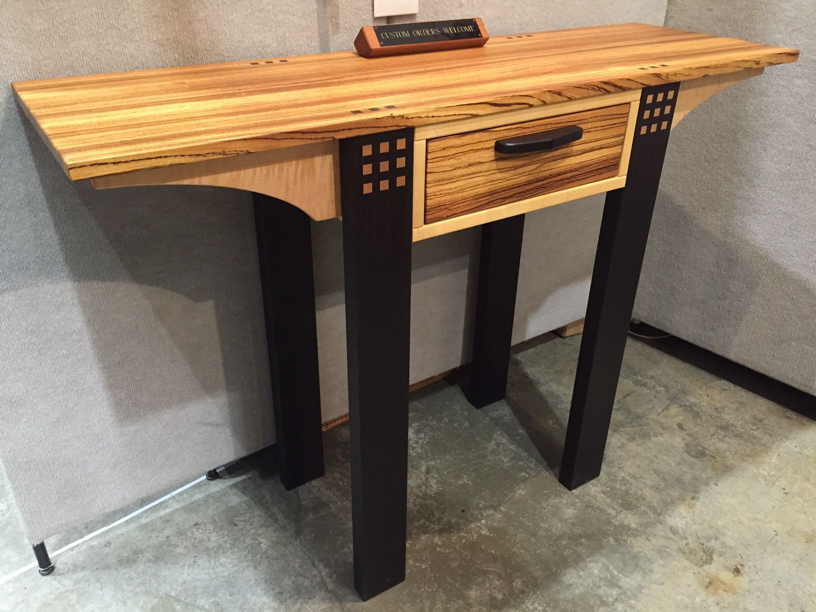 side table at 2016 american craft council show woodworking rh pinterest com
