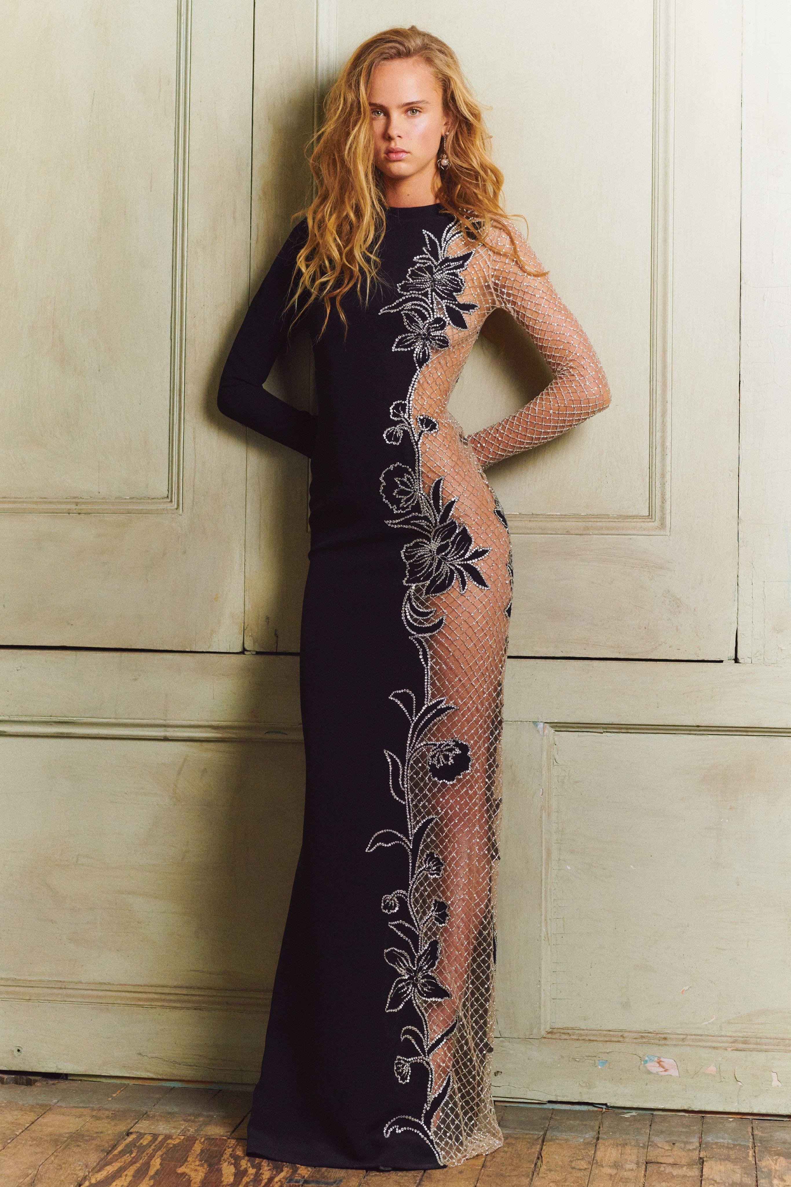 Oscar de la Renta Pre-Fall 2020 Fashion Show - Vogue
