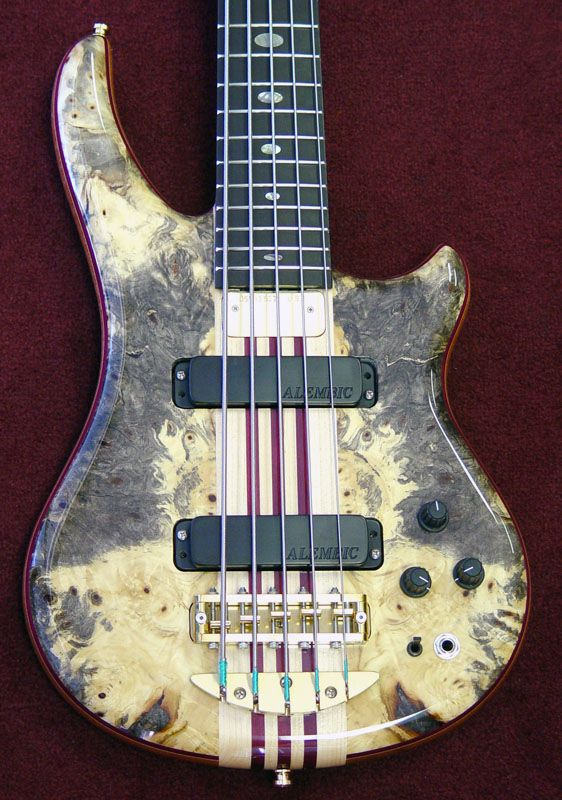 alembic essence 5 string bass in buckeye burl guitars alembic rikkers music guitar bass. Black Bedroom Furniture Sets. Home Design Ideas