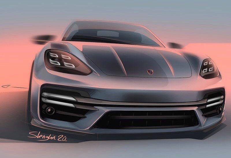 "Car and Sketch on Instagram: ""Porsche Panamera 2021 🇩🇪😎🇩🇪😎 @porsche  @carandsketch  #panamera #porsche  #cardesign #cardesignsketch #sketch #automotivedesign #carsketch…"""