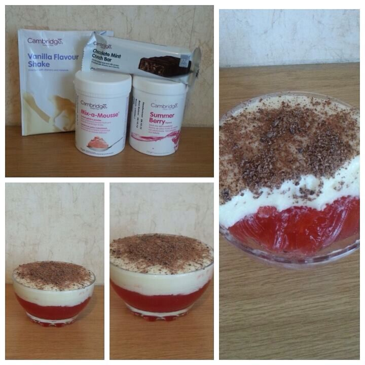 Try Making This Healthy Trifle Using Cambridge Weight Plan Products