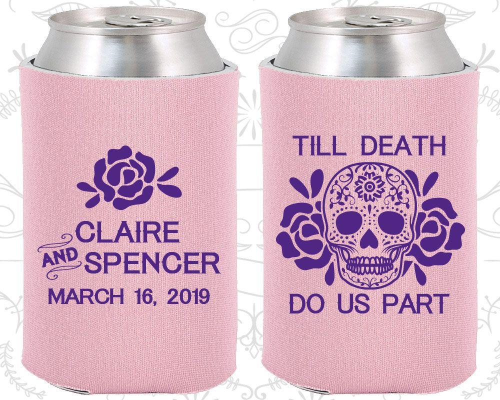 Till Death Do Us Part, Sugar Skull Wedding Favors, Floral Wedding ...