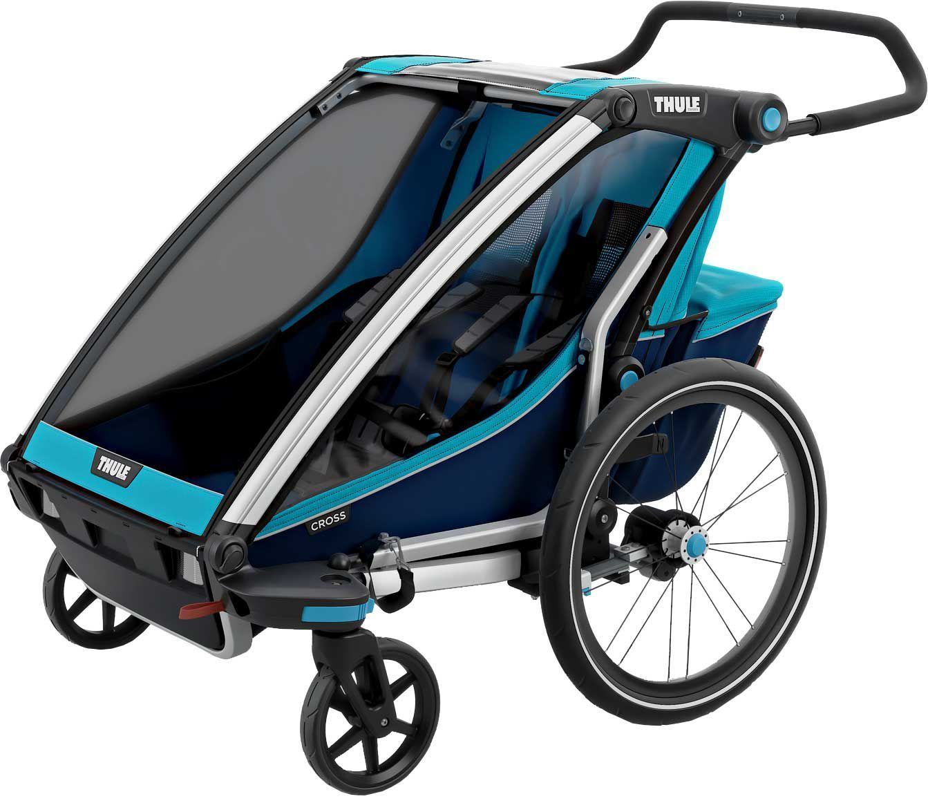 Thule Chariot Cross 2 Double Bike Trailer and Stroller