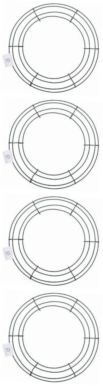 Wreaths 16498: Bulk Buy: Wire Wreath Frame 12 Green 36003 (10-Pack ...