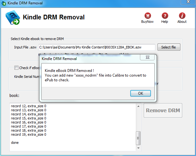 kindle drm removal mac crack