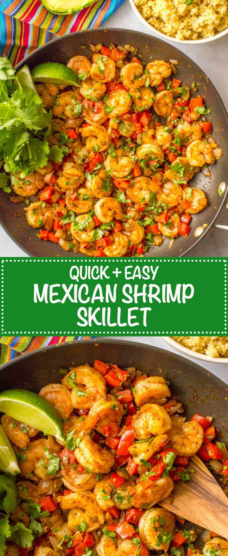 Quick + easy Mexican shrimp skillet (+ video) - Family Food on the Table