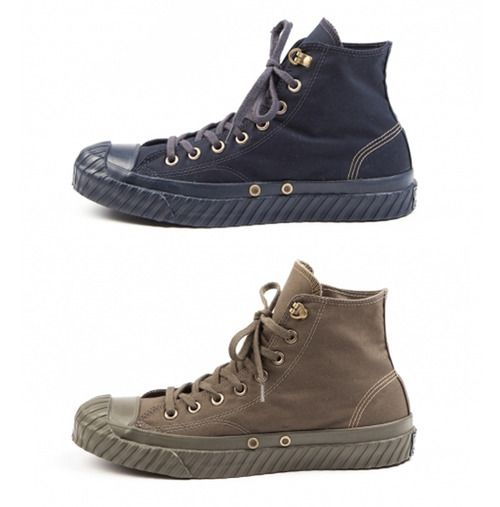 Nigel Cabourn designed a collection of shoes CONVERSE