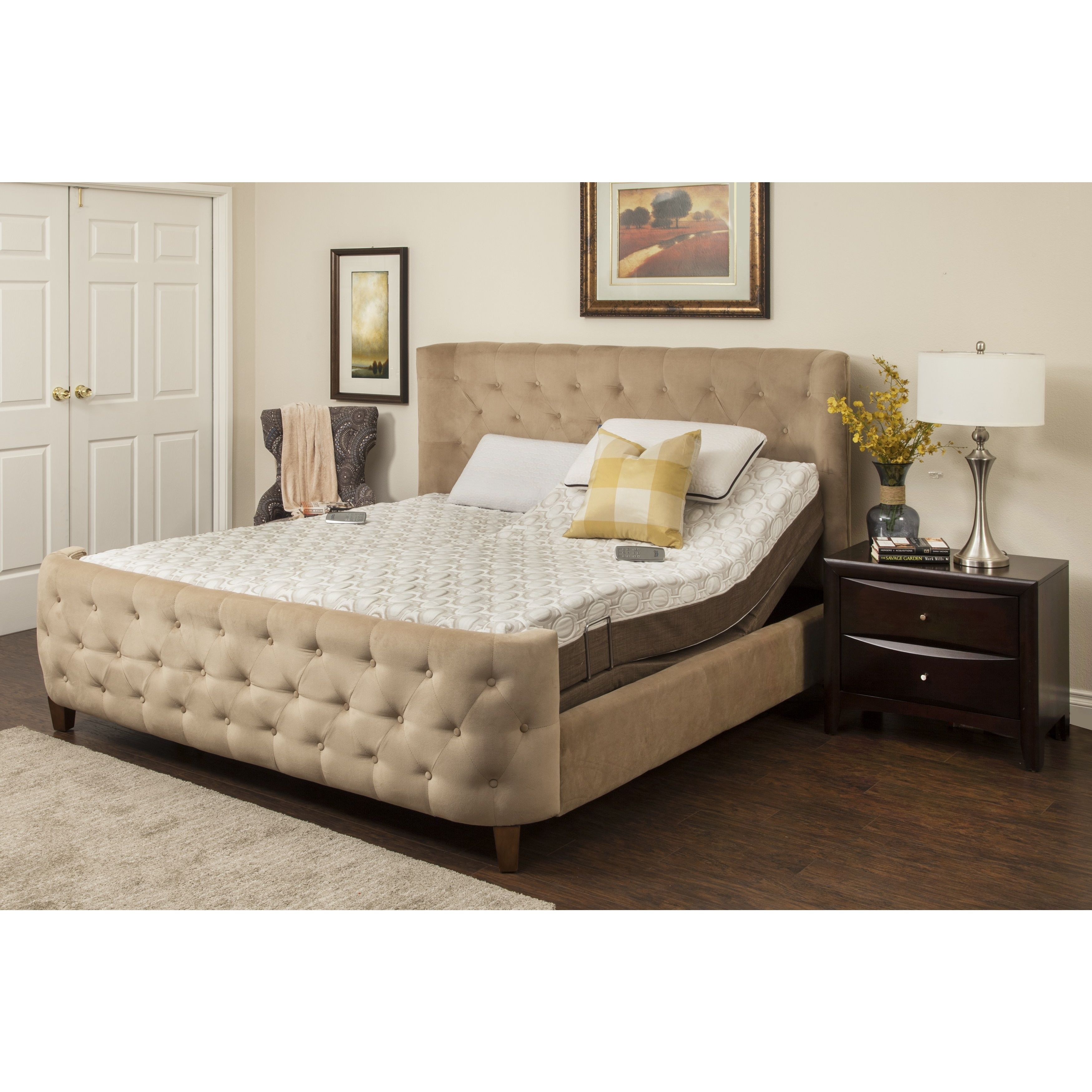 Sleep Zone Peony 10inch Memory Foam Mattress and