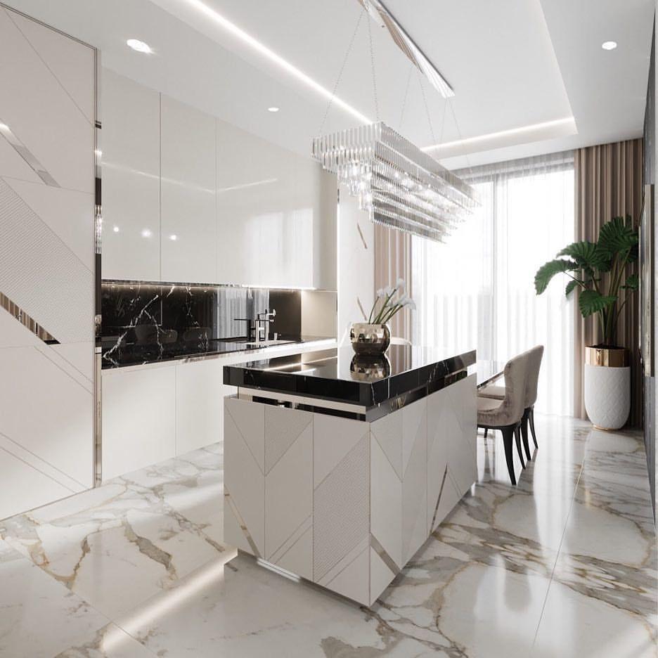 Décoration Salon Moderne Noir Et Blanc Épinglé par Лола дола sur Аналоги | cuisine moderne