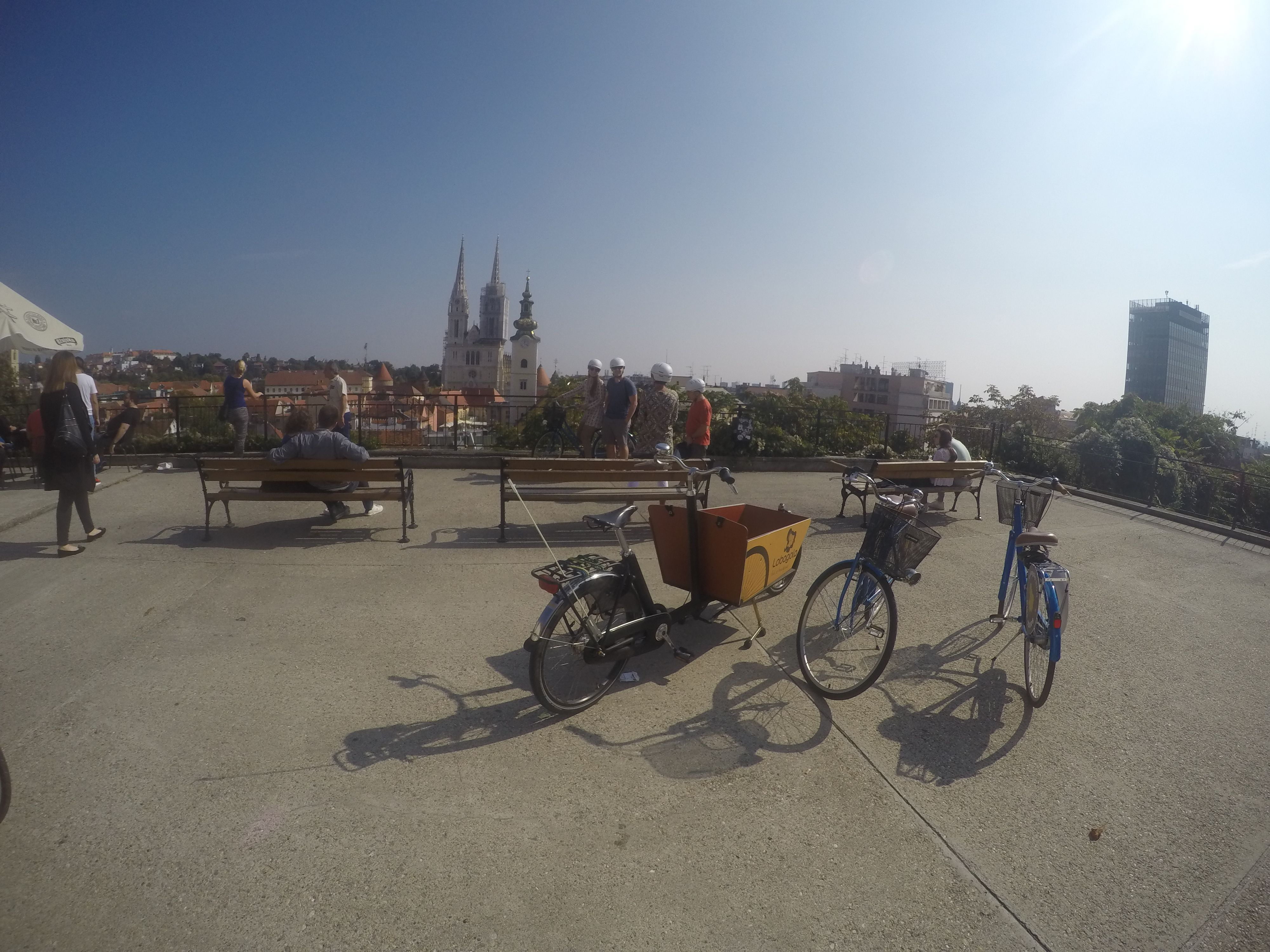 Hop On A Bike With Lobagola Tour And Let Us Take You To All The Best Viewpoints To See Zagreb From Every Corner Of The City Lobagola La Tours Bike Tour