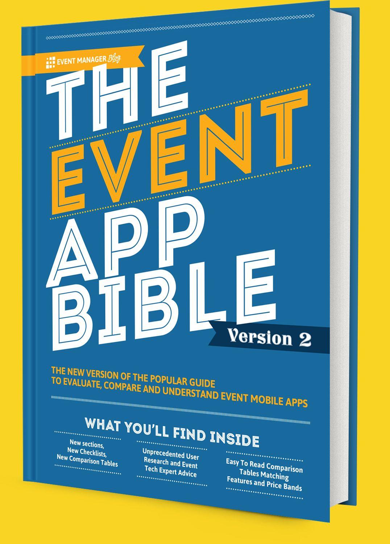 The Event App Bible 2020 Event Manager Blog Event App Event Management Event Technology