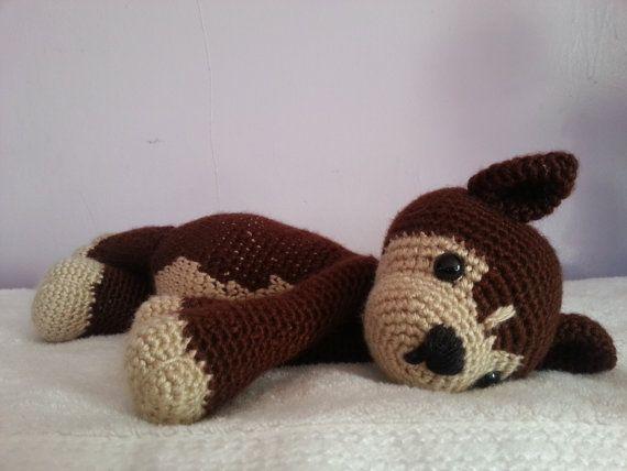 Nanook the Husky amigurumi puppy