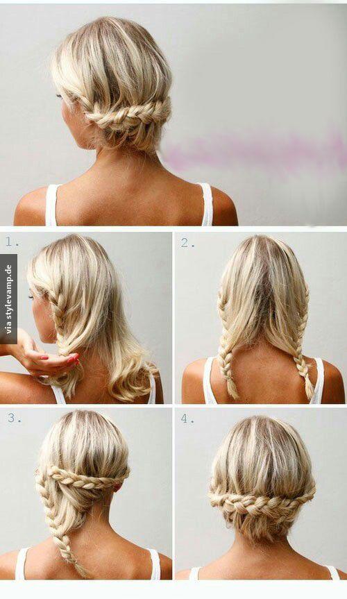 Dutt frisuren fur dunnes haar