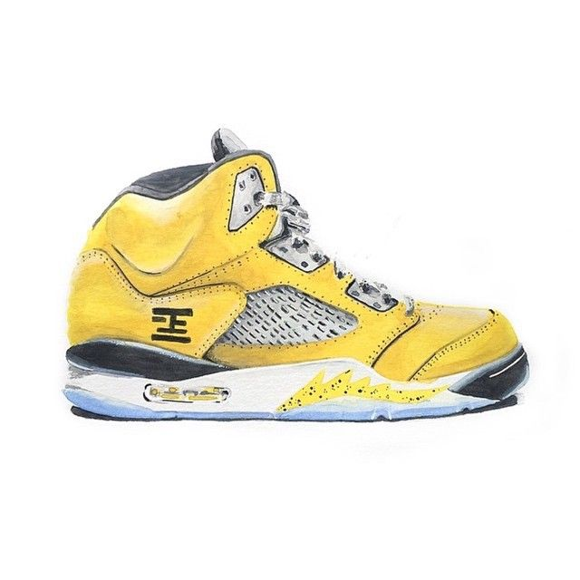 the latest d5bcf b4386 Here is a drawing of the Jordan 5