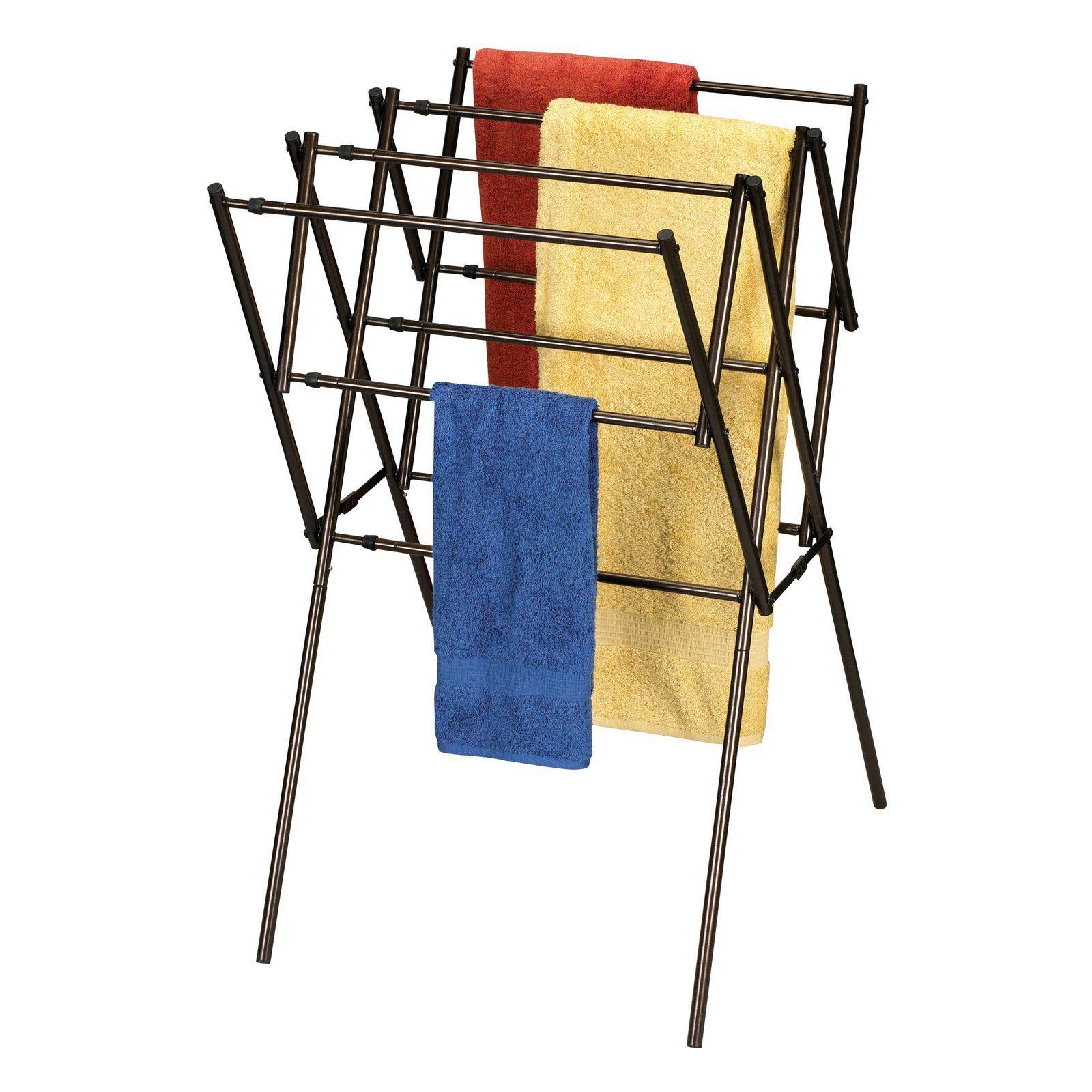 Household Essentials Expandable Clothes Dryer - Antique Bronze Frame - 5175