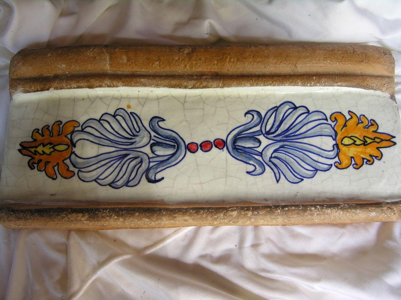 Piastrelle Marocchine Vendita On Line : Listelli in cotto e ceramica mattonelle maioliche ceramica