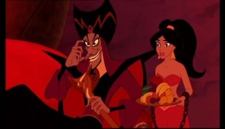 Aladdin Jafar In Power Aladdin Jafar Princess Jasmine