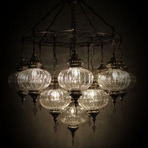 pyrex chandeleir