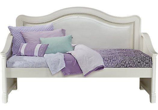 Sofia Vergara Kayla White 2 Pc Daybed Twin Beds Colors