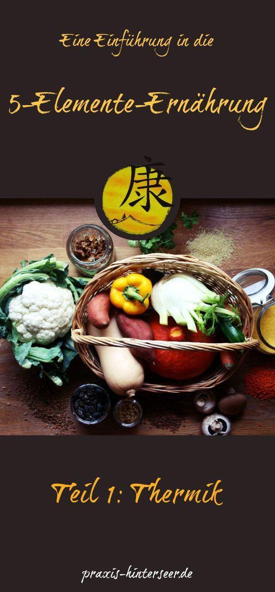 Die 5-Elemente-Ernährung