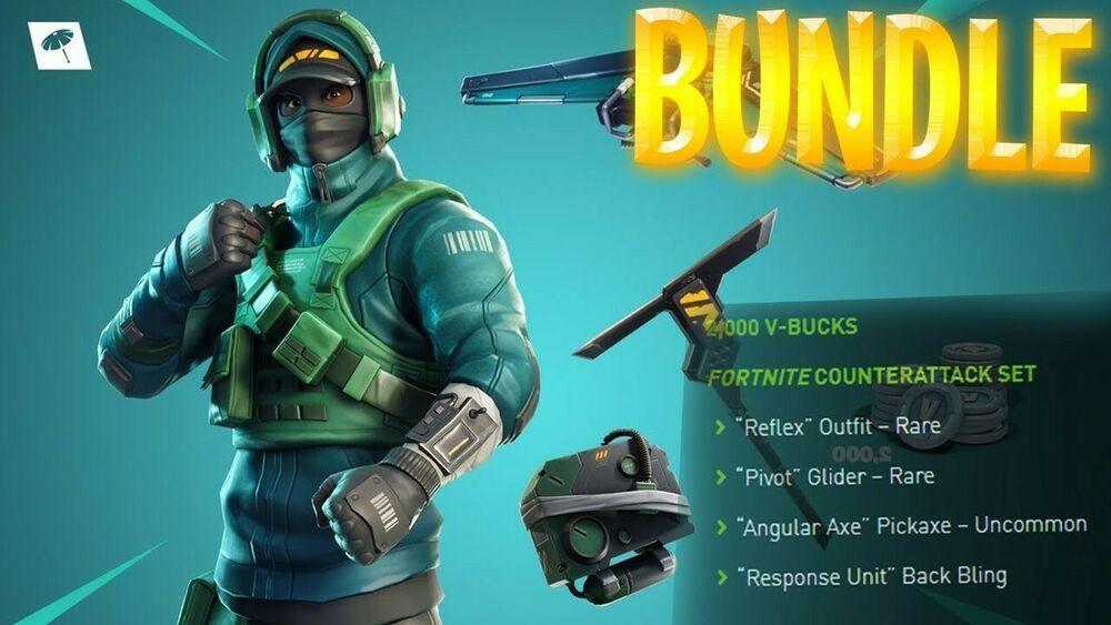 NVIDIA GeForce Fortnite Counterattack Set Game Code