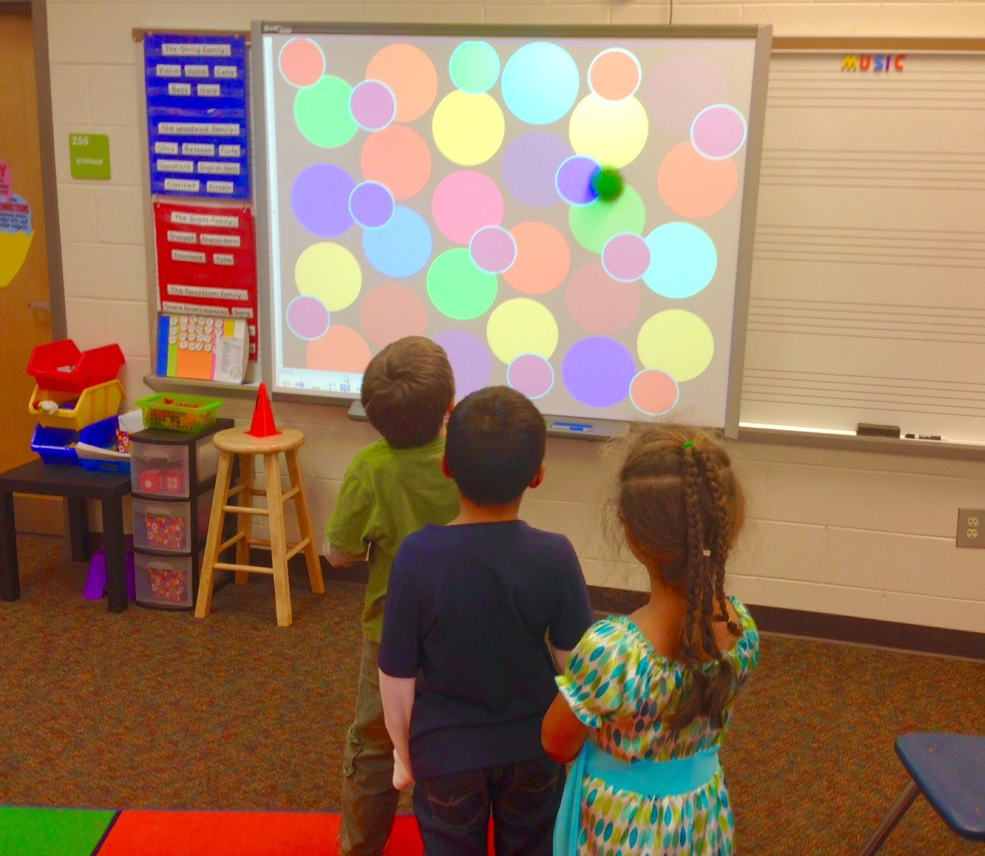 We Music Hses More Rhythm Centers