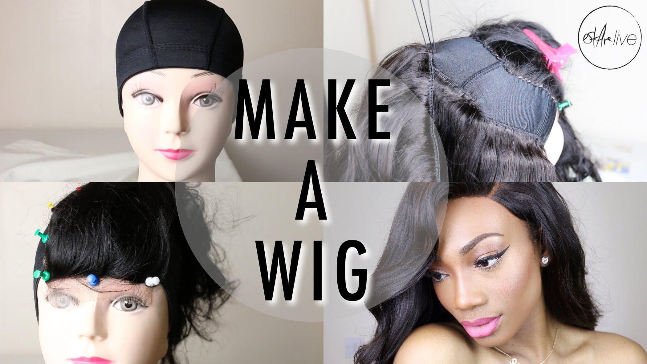 How to make a wig step by step tutorial sewing a lace