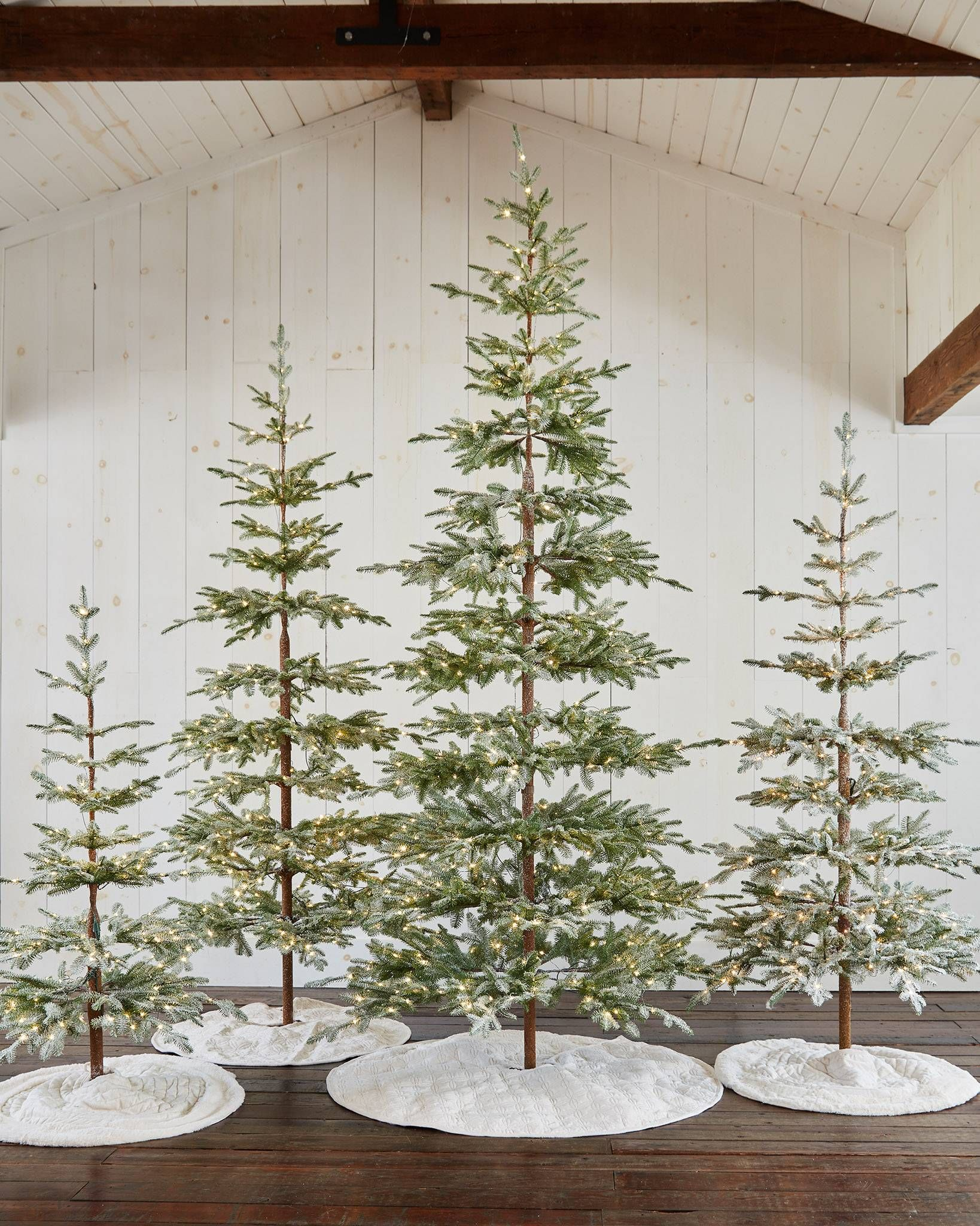 Frosted Alpine Balsam Fir 8482 Tree Realistic Artificial