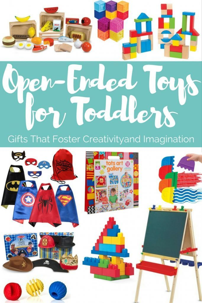 Open Ended Toys For Toddlers Gifts That Encourage